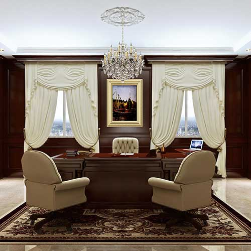 THE UNIQUENESS OF TAILOR MADE BOISERIE AND FURNISHINGS